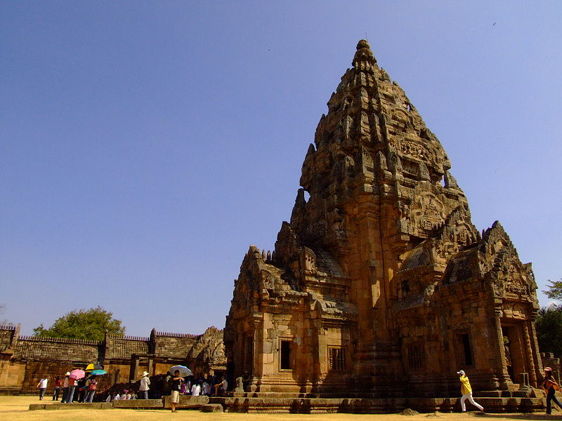 Phanumrung temple historical site in nakon ratchassima province