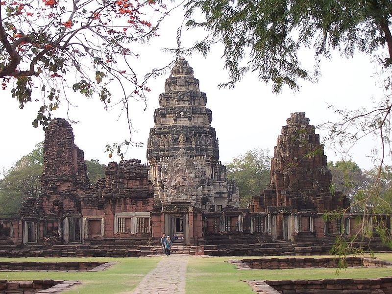 Phimai temple historical site, nakon ratchassima